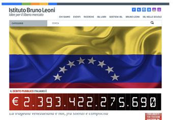 Istituto Bruno Leoni e il contatore del debito pubblico